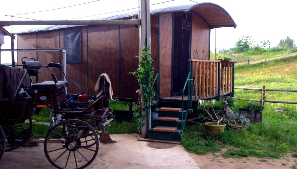 The gypsy wagon!
