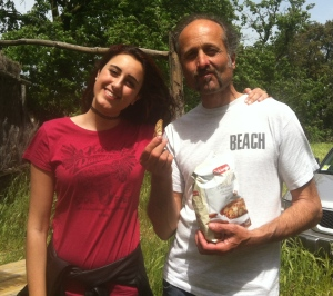 Enrico and 15 yr old daughter, Francesca.