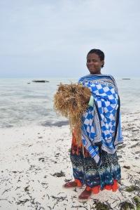 Seaweed farmer.