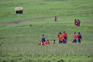 The Maasai and their beautiful colors